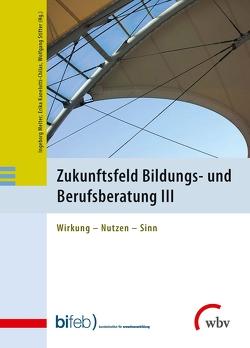 Zukunftsfeld Bildungs- und Berufsberatung III von Kanelutti-Chilas,  Erika, Melter,  Ingeborg, Stifter,  Wolfgang