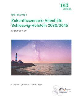 Zukunftsszenario Altenhilfe Schleswig-Holstein 2030/2045 von Opielka,  Michael, Peter,  Sophie