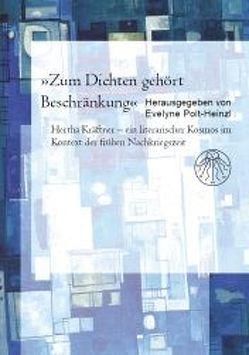 """""""Zum Dichten gehört Beschränkung"""" von Polt-Heinzl,  Evelyne"""