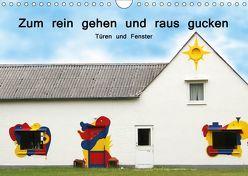 Zum rein gehen und raus gucken – Türen und Fenster (Wandkalender 2019 DIN A4 quer) von Nerlich,  Cornelia