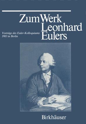 Zum Werk Leonhard Eulers von KNOBLOCH, LOUHIVAARA, Winkler