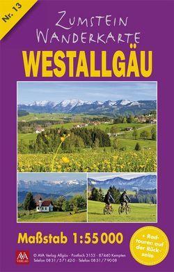 Zumstein Wanderkarte Westallgäu