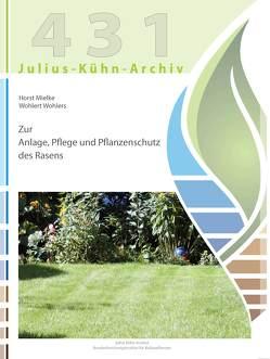Zur Anlage, Pflege und Pflanzenschutz des Rasens von Mielke,  Horst, Wohlers,  Wohlert