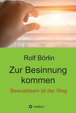 Zur Besinnung kommen von Börlin,  Rolf