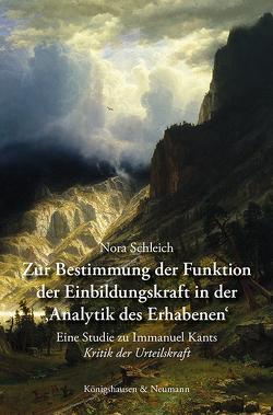 Zur Bestimmung der Funktion der Einbildungskraft in der ›Analytik des Erhabenen‹ von Schleich,  Nora