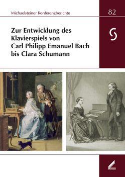 Zur Entwicklung des Klavierspiels von Carl Philipp Emanuel Bach bis Clara Schumann von Lustig,  Monika, Omonsky,  Ute, Philipsen,  Christian