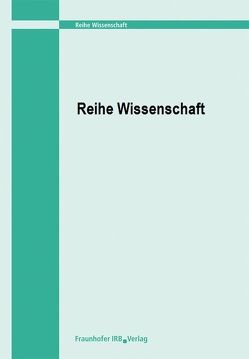 Zur Heiztechnik in Wohngebäuden mit verschärftem Wärmeschutz unter besonderer Berücksichtigung der Brennwerttechnik. von Oschatz,  Bert