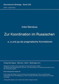 Zur Koordination im Russischen von Mendoza,  Imke