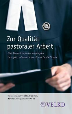 Zur Qualität pastoraler Arbeit von Hahn,  Udo, Jahn,  Christine, Lasogga,  Mareile