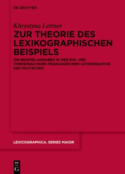 Zur Theorie des lexikographischen Beispiels von Lettner,  Khrystyna
