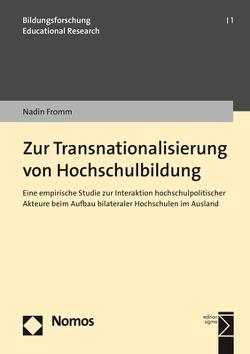 Zur Transnationalisierung von Hochschulbildung von Fromm,  Nadin