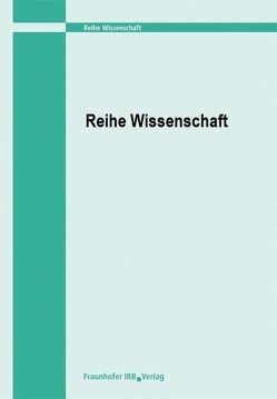 Zur Zuluftsicherung von nahezu fugendichten Gebäuden mittels dezentraler Lüftungseinrichtungen. von Reichel,  Dirk
