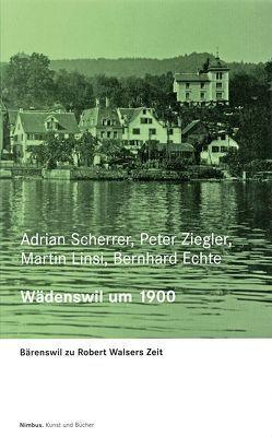 Zürcher Walser-Kassette / Wädenswil um 1900 von Echte,  Bernhard, Linsi,  Martin, Scherrer,  Adrian, Ziegler,  Peter