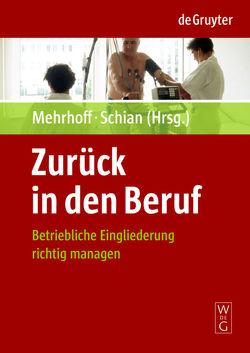 Zurück in den Beruf von Mehrhoff,  Friedrich, Schian,  Hans-Martin