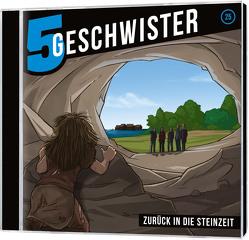 Zurück in die Steinzeit – 5 Geschwister (25) von Schier,  Tobias, Schuffenhauer,  Tobias
