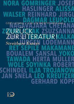 Zurück zur Literatur! von Ueding,  Gert, Wertheimer,  Jürgen
