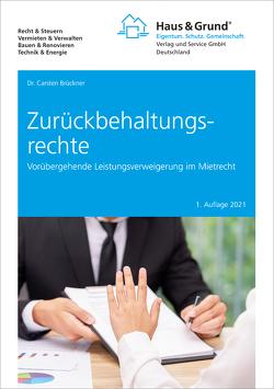 Zurückbehaltungsrechte von Brückner,  Carsten