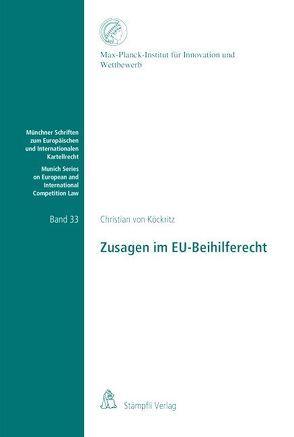 Zusagen im EU-Beihilferecht von von Köckritz,  Christian