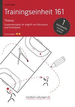 Zusammenspiel im Angriff von Rückraum und Kreisläufer (TE 161) von Madinger,  Jörg