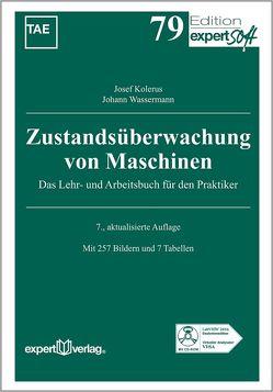 Zustandsüberwachung von Maschinen von Kolerus,  Josef, Wassermann,  Johann
