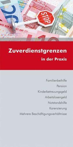 Zuverdienstgrenzen von Lehrer,  Martin, Luxbacher,  Bernd