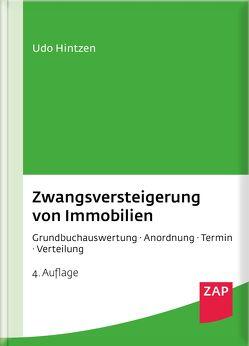Zwangsversteigerung von Immobilien von Hintzen,  Udo