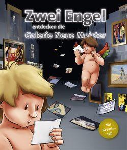Zwei Engel entdecken die Galerie Neue Meister von Blei-Hoch,  Claudia, Kaden,  Michael, Stübing,  Bianka