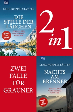 Zwei Fälle für Commissario Grauner (2in1-Bundle) von Koppelstätter,  Lenz