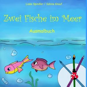 Zwei Fische im Meer von Knauf,  Sabine, Spindler,  Liane