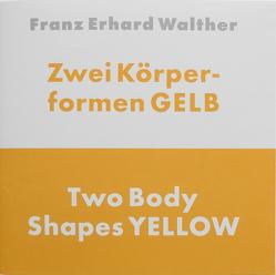 Zwei Körperformen GELB von Walther,  Franz Erhard