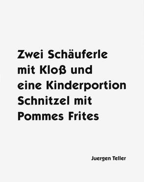 Zwei Schäuferle mit Kloß und eine Kinderportion Schnitzel mit Pommes Frites von Teller,  Juergen