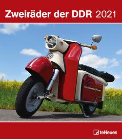 Zweiräder der DDR 2021 – Wand-Kalender – 30×34 -Motorrad