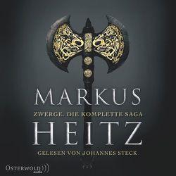 Zwerge. Die komplette Saga von Heitz,  Markus, Steck,  Johannes