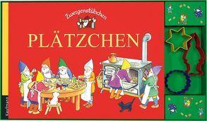 Zwergenstübchen Plätzchen mit Ausstechförmchen von Rohrbeck,  Manfred, Schuster,  Elke, Schuster,  Timo, Zeidler,  Eva