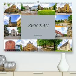 Zwickau Impressionen (Premium, hochwertiger DIN A2 Wandkalender 2020, Kunstdruck in Hochglanz) von Meutzner,  Dirk