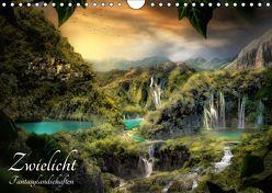 Zwielicht – Fantasylandschaften (Wandkalender 2019 DIN A4 quer) von Wunderlich,  Simone