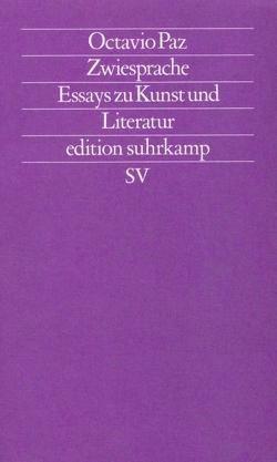 Zwiesprache von Paz,  Octavio, Wehr,  Elke, Wittkopf,  Rudolf