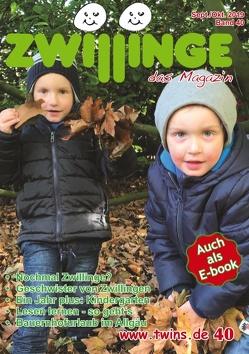 Zwillinge – das Magazin Sept./Okt. 2019 von von Gratkowski,  Marion