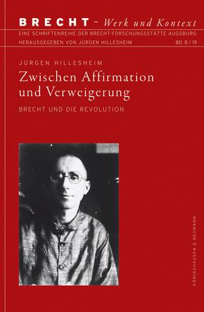 Zwischen Affirmation und Verweigerung von Hillesheim,  Jürgen