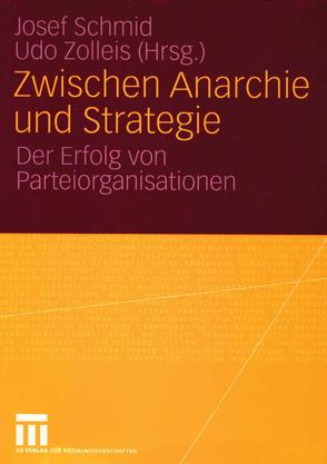 Zwischen Anarchie und Strategie von Schmid,  Josef, Zolleis,  Udo