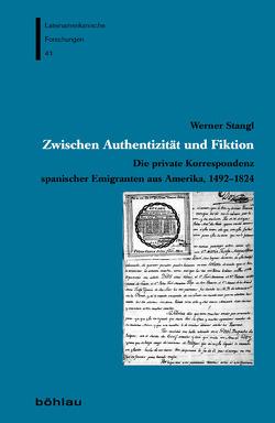 Zwischen Authentizität und Fiktion von Stangl,  Werner