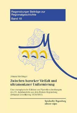 Zwischen barocker Vielfalt und ultramontaner Uniformierung von Kirchinger,  Johannes