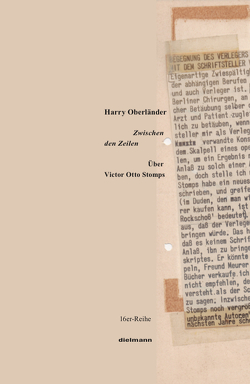 Zwischen den Zeilen von Oberländer,  Harry, Stomps,  Victor Otto