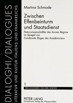 Zwischen Elfenbeinturm und Staatsdienst von Schmode,  Martina