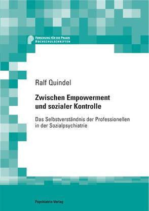 Zwischen Empowerment und sozialer Kontrolle von Quindel,  Ralf