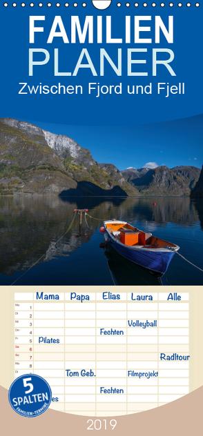 Zwischen Fjord und Fjell – Norwegen – Familienplaner hoch (Wandkalender 2019 , 21 cm x 45 cm, hoch) von Leimer,  Stefan
