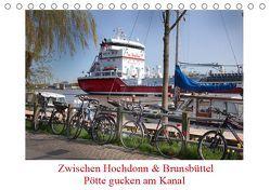 Zwischen Hochdonn & Brunsbüttel: Pötte gucken am Kanal (Tischkalender 2019 DIN A5 quer) von Ola Feix,  Eva