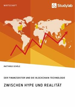 Zwischen Hype und Realität. Der Finanzsektor und die Blockchain-Technologie von Schüle,  Matthäus