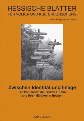 Zwischen Identität und Image von Hessische Vereinigung für Volkskunde, Zimmermann,  Harm-Peer