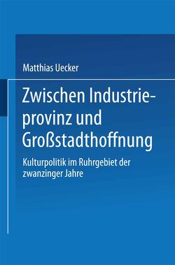 Zwischen Industrieprovinz und Großstadthoffnung von Uecker,  Matthias